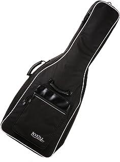 Rocktile 4/4 经典吉他包 带背包装饰 Gigbag 适用于民谣吉他和古典吉他 黑色