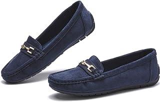 COOL COSER C 女式休闲舒适乐福鞋一脚蹬平底鞋