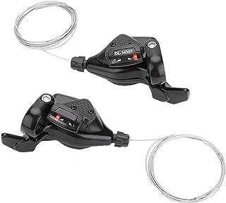 Yosoo Health Gear 1 对三重3x7/8/9自行车变速器杠杆,铝合金 MTB 山地自行车变速器