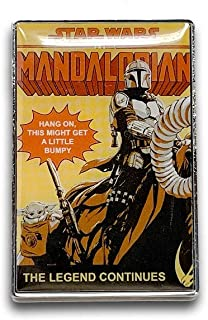 Star Wars: The Mandalorian2 The Legend Continues Pin