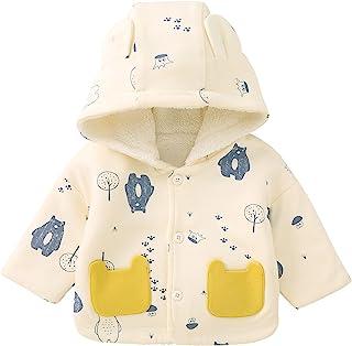 pureborn 幼儿男孩女孩连帽夹克中性款儿童外套外套