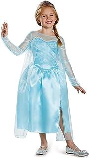 Disguise Disney's Frozen Elsa Snow Queen Gown Classic Girls Costume