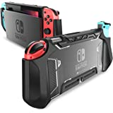 mumba 适用于Nintendo Switch 的固定盒,[Blade系列] TPU防摔保护盖盒,兼容Nintendo…