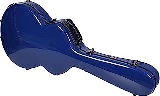 Crossrock 玻璃纤维硬壳背包*蓝 335 风格吉他盒 (CRF1020SANVBL)