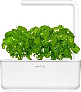 Click & Grow Smart Garden 3 室内园艺花盆 30 x 28 x 10cm,白色