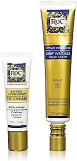 RoC 视黄醇 深层抗皱晚霜和视黄醇Correxion眼霜 超值套装 两件套