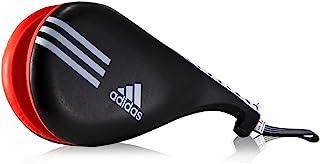 adidas Taekwondo 双踢手套 靶垫 训练 Tae Kwon Do Kickmitt TKD (黑色)