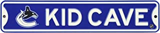 Authentic Street Signs NHL 官方*,高级实心钢儿童CAVE STREET 标牌 - 卧室、游戏室、游戏室 -