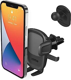 iOttie Easy One Touch 5 通风口车载支架手机支架,适用于 iPhone、Samsung 三星、Moto、华为、诺基亚、LG、智能手机