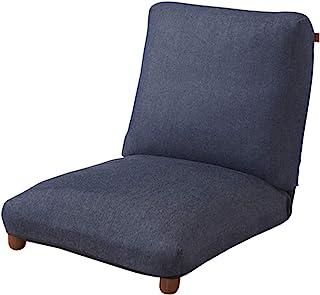 东谷(Azumaya-kk) 斜躺椅 牛仔布 宽60×纵深74-116×高20-56(SH18) cm 斜躺椅 RKC-941DM