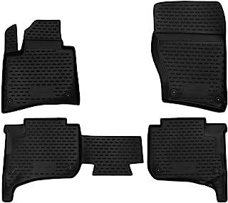 Element EXP.NLC.51.31.210kn 高级防滑橡胶垫脚垫适用于 VW Touareg II 10-18 岁黑色