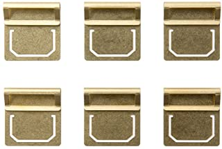 MIDORI 黃銅制 復古 索引夾