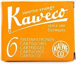 Kaweco 钢笔墨水墨盒短裤,日出橙色(橙色),6 件装