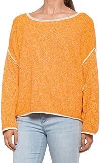 Free People 女式 Bardot 柔软针织毛衣橙色 XS 码
