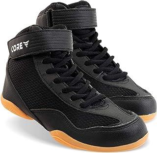 Core 摔跤鞋 – 高牵引力战斗运动鞋 – 耐用鞋适用于摔跤运动员,举重训练 – 北欧风格战斗鞋,运动装备,轻质运动鞋