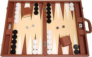 48.26 厘米优质后棋套装 - 大尺寸 - 沙漠棕色板