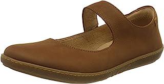 El Naturalista 女士 N5301 Pleasant Wood/oral 浅口芭蕾舞鞋