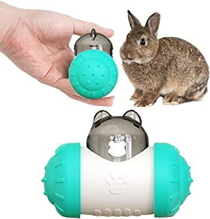 Dbeans Flourithing 小狗拼图玩具,狗狗慢速喂食玩具,Tumbler-自重平衡设计,保护宠物的胃肠*,是小狗或猫咪的*佳玩耍伴侣