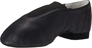 Bloch Dance 女孩*爵士皮革和弹性一脚蹬爵士鞋