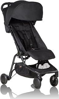 Mountain buggy nano V2 旅行婴儿推车 黑色 适用于0-4岁(最大承重:20kg)