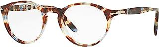 Persol PO3092V - 9050 眼镜镜片 AZURE 棕色 w/半透镜 48mm