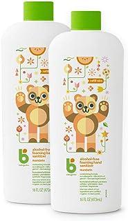 BabyGanics 甘尼克宝贝 无酒精泡沫洗手液补充液,柑橘,16盎司/473毫升瓶装(2件装)