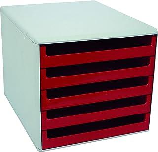 Metzger & Mendle 30050906 抽屉盒 带5抽屉红色