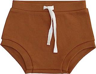 Lucy Lue Organics,中性款婴儿*开胸短裤,尿布套(0-12 个月)