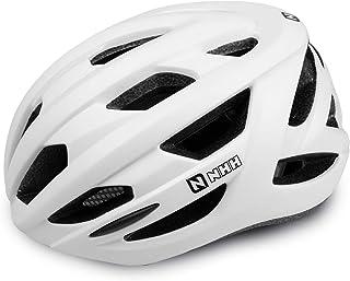 NHH 成人自行车头盔 - 符合 CPSC 标准自行车头盔轻质透气可调节头盔男女通勤和公路自行车