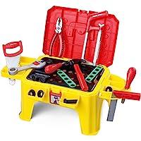 贝恩施 儿童玩具多功能工具百宝箱椅子398(神奇大变身)