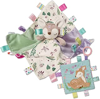 Mary Meyer Taggies Flora Fawn 角色毛毯 & Crinkle Me