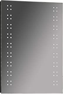 Keenware KBM-002 LED 浴室镜子带扬声器,银色,700x500