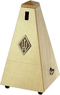 ウィットナー 木製メトロノーム つや消し仕上げ 拍子ベル付き ブロンズ・メイプル・ホワイト