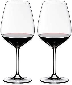 riedel 心形 玻璃适用于cabernet
