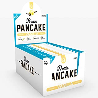 Nano A Protein Pancakes, 45 g, Vanilla, 12-Count