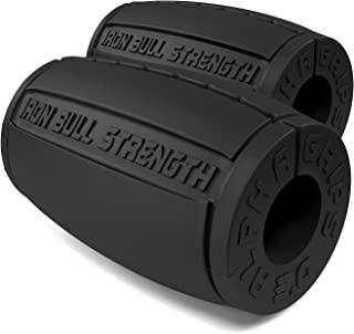 Iron Bull Strength Alpha Grips 3.0 - Extreme Arm Blaster - *佳哑铃和杠铃厚棒适配器