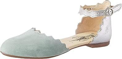 Fly London Megs210fly 女士踝带芭蕾平底鞋