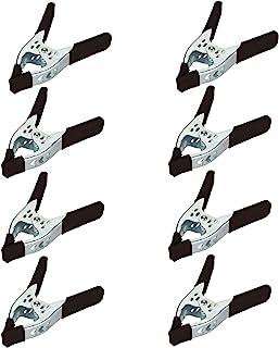 Houseables 弹簧夹,重型夹,金属大坚固夹子,黑色,6 英寸(约 15.2 厘米)手握,宽钳口,五金夹,适用于摄影、家具、露营、工作、小马、工业
