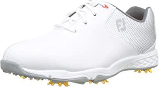 Footjoy 男童高尔夫鞋 白色 (Blanco/Plata 45002), 36.5 EU