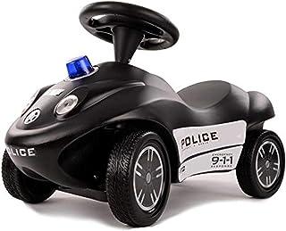 Ferbedo 费尔达 警察 警车 带蓝色 + 警笛 适合 12 个月以上的儿童,静音轮胎,吊坠环,尺寸 63 x 30 x 40 厘米) F050911