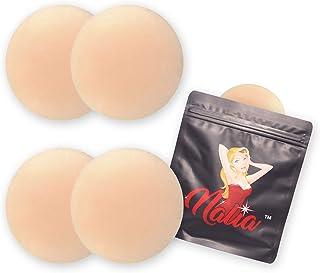 NALIA 2 双装超薄硅胶可重复使用无乳头罩女士粘性乳贴