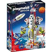 Playmobil 摩比世界 火星火箭与发射台 Space 9488,适用于6岁以上儿童