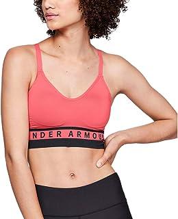 Under Armour 安德玛 女士 轻便透气的高支撑运动 现代跑步文胸无缝延绳钓