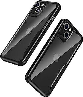 兼容 iPhone 13 手机壳,重型防震防摔保护套,适用于 iPhone 13 6.1 英寸,黑色