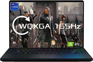 ASUS 华硕 ROG Zephyrus M16 GU603HR 165 Hz WUXGA 16 英寸游戏笔记本电脑(Intel i9-11900H 处理器,NVIDIA GeForce RTX 3070 显卡,32 GB RAM (2x 16 GB),2 TB PCIe SSD,Windows 10 专业)