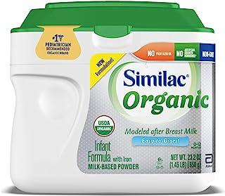 Similac 雅培 婴儿奶粉,1 段 0-12个月,23.2盎司/658克,6件