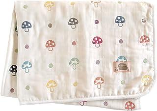 Hoppetta 蘑菇花纹 蓬松纱布(6层纱布)妈妈和爸爸被单 5280