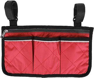 Walker 悬挂袋 600D 牛津布黑色轮椅侧包,步行者储物袋,适用于步行者滑板车