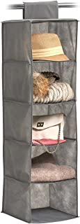 Zeller 悬挂收纳盒,灰色 灰色 28x28x95 cm 14613