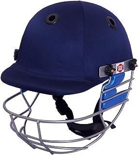 SS Cricket Ranger 板球头盔 - 男式(蓝色和黑色) - L 码